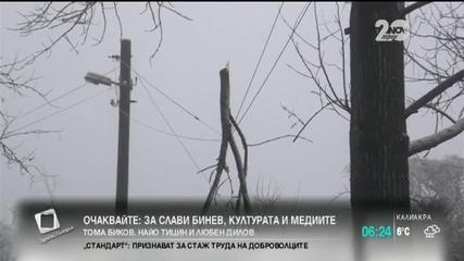 Над 40 населени места във Видинска област и тази нощ без ток