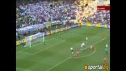Редовният гол на Англия при 2:1 за Германия