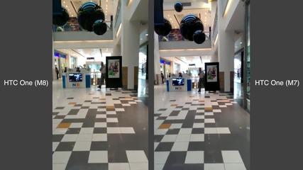 HTC One (M8) срещу HTC One M7 - кратък тест на камерата