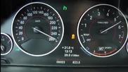 Bmw 328i Sport Touring F31 от 0 до 258 км в ч.