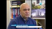 Огън горя в новостроящ се небостъргач в София - Новините на Нова