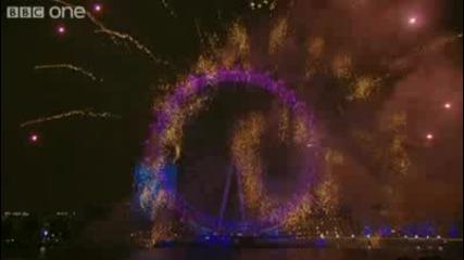 2010 Година в Лондон, Фоерверки