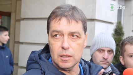 Хубчев: Левски може да събере 20 хиляди публика и в пета дивизия