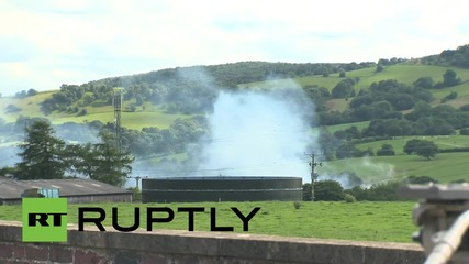 UK: Mass explosions trap four people in collapsed wood mill near Macclesfield