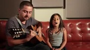 Rolling in the Deep - Adele Acoustic Cover (jorge and Alexa Narvaez) (1)