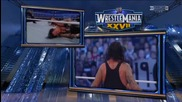 Wwe Wrestle Mania 27 The Undertaker vs Triple h Part 4