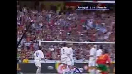 Portugal - Slovakia 2:0 Ronaldos goal