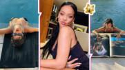 Топлес снимка на Риана вбеси феновете ѝ - певицата се подиграла с ценен религиозен символ