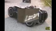 Луди французи сътвориха 12 - цилиндрова четириколка с 500кс