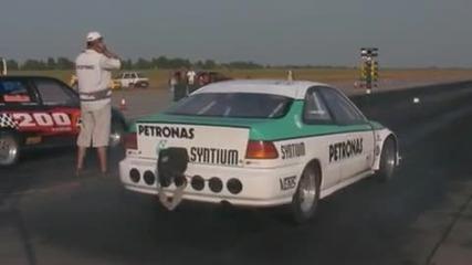 Honda civic coupe petronas
