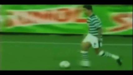 Cristiano Ronaldo в тийнейджърските си години ..