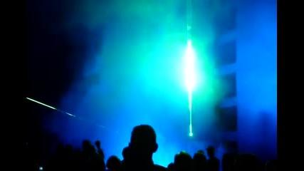 Лазерно шоу в Благоевград - 100 год. Независимост
