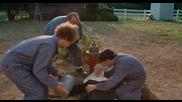 сцена от филма ''тройка дебили'' (2012) [тhe Three Stooges] (голям Смях :d)