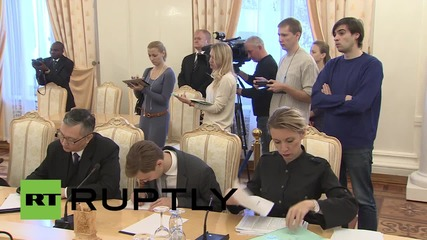 Russia: Lavrov meets with Congolese FM Gakosso in Moscow