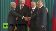 Kazakhstan: EESC leaders show their unity ahead of talks