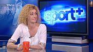 Ина Ананиева, гост на Спорт+ по Тв+
