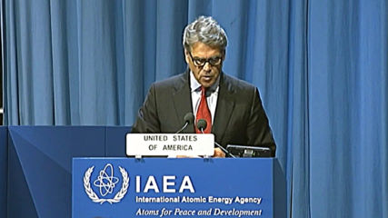 Austria: US 'condemns Iran's attack on Saudi Arabia' oil supplies - Eng Sec Perry at IAEA conference