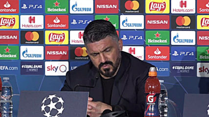 Italy: Napoli's Gattuso regrets missed CL victory against Barcelona