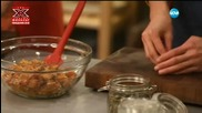 Салата от печена тиква със соев сос - Бон Апети (22.01.2016)