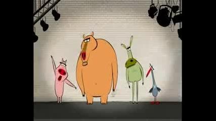 Анимационни животни правят Beatbox
