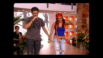 Christopher Ukermann and Dulce Maria (diego i Roberta)