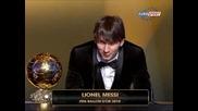 Лионел Меси спечели Златната топка за 2010 !