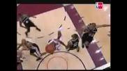 Nba Lebron James Layup And Foul ( Finals )