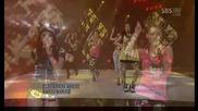 4minutne - Hot Issue [sbs Inkigayo 090628]