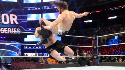 Daniel Bryan floors The Beast with a vicious Running Knee: Survivor Series 2018 (WWE Network Exclusive)