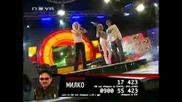 Вип брадър 3:емилия подкрепя Милко и пее Ти си луд
