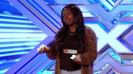 Много силно и добро изпълнение на Hannah Barrett || The X Factor U K 2013 ||
