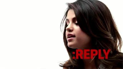 -selena Gomez - Ask-reply-- -