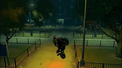 Gta Iv Driving on Front Wheel