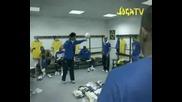 Бразилия - Ronaldinho,  Adriano,  Robinho и Kaka