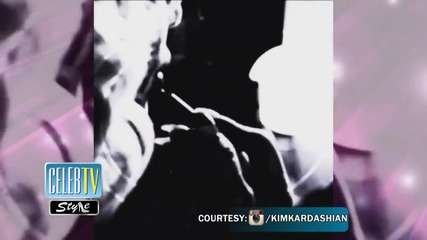Kim Kardashian Channels Her Inner Marilyn Monroe