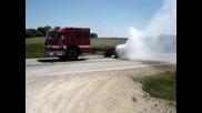 Пожарна пали гуми