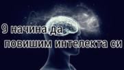 9 начина да повишим интелекта си