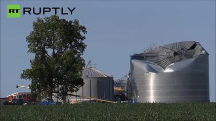 Storms Rip Through Iowa as Tornado Season Hits the Midwest