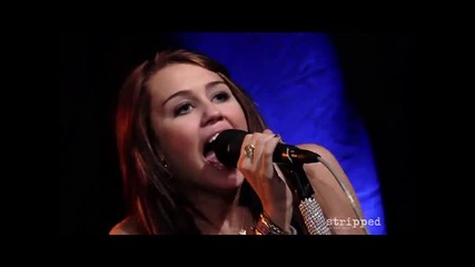 Miley Cyrus - Girls Just Wanna Have Fun (live Hq)