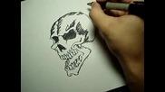 Speed Drawing Skull