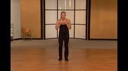 За дами- свалете килограми чрез кикбокс движения. Тренировка 2.