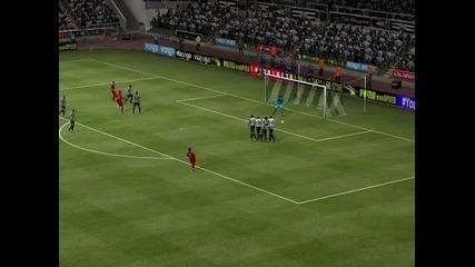 Гол със Суарез на Fifa 14