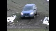 Тойота Рав 4 в лепкава кал - изкачване