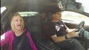 Безценни реакции на възрастни дами возени в Lamborghini