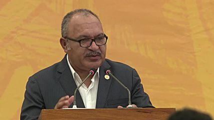 Papua New Guinea: APEC statement delayed after China-US debate