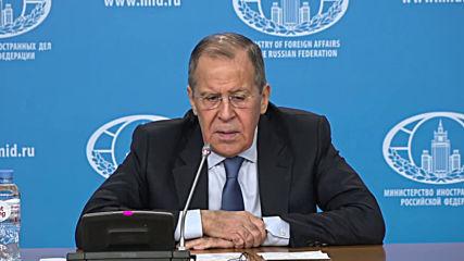 Russia: Lavrov talks Libya, Iran, Ukraine in annual press conference
