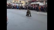 Спецназ в Слониме на 70-летие бригады