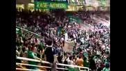 Фенове На Панатинаикос На Баскетболен Мач