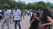 India: Pokemon Go fans mass in New Delhi park as game gets India release
