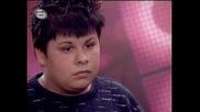 !! Music Idol 2 Фънки И лошото му отношение към 16 годишния Иван Танев (добро Качество) !!